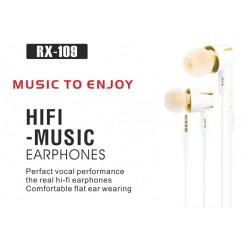 Hifi Music Earphones RX-109
