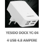USB Adapter-model-YC04-Output-4.8A