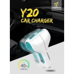 Yesido Car Charger Y-20 - 2.4A